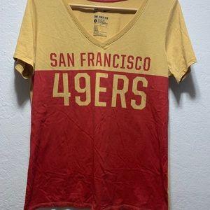 San Francisco 49ers women's shirt